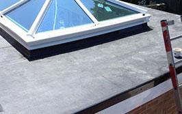 Flat roof repairs Barnfield